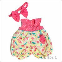 Party collection outfit Meiya for little Rubens Barn dolls