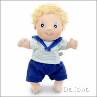 Rubens Cutie doll Adam by Rubens Barn