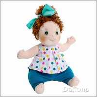 Rubens Kids doll Cicci (new) by Rubens Barn