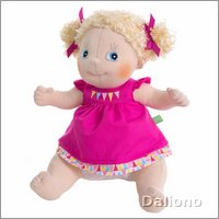 Rubens Kids doll Linnea (new) by Rubens Barn