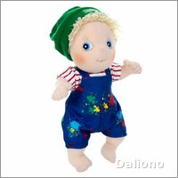 Rubens Cutie Activity doll Adam by Rubens Barn