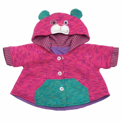 Outfit teddybear jacket for Baby Rubens dolls