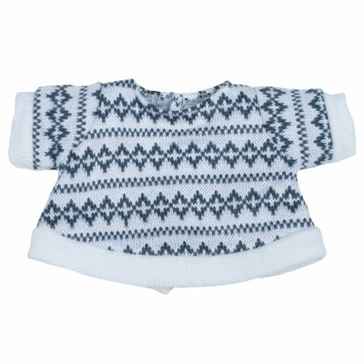 Extra outfit - grey jumper for Rubens Kids dolls