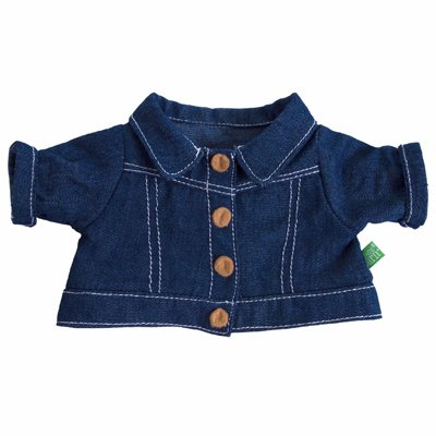 Extra outfit - jeans jacket for Rubens Kids dolls
