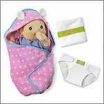 Changing kit (blanket, nappy, towl) for Rubens Babys by Rubens Barn