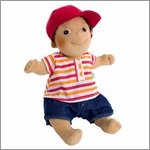 Rubens Kids doll Tim (new) by Rubens Barn